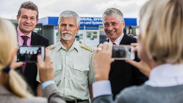 Dny NATO v Ostravě, na fotogarfii generál Petr Pavel.