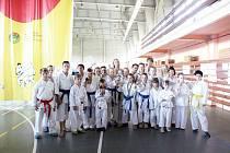Reprezentační tým klubu Shotokan Karate Klub ATTFIS Ostrava.