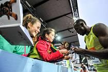 Usain Bolt, Zlatá tretra Ostrava 2015. Ilustrační foto.