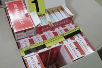 Celníci zajistili bezmála milion cigaret.
