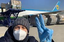 Letadla převážející zdravotnický materiál