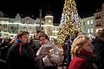 Akce Deníku - Česko zpívá koledy na Masarykově náměstí, 13. prosince 2017 v Ostravě.