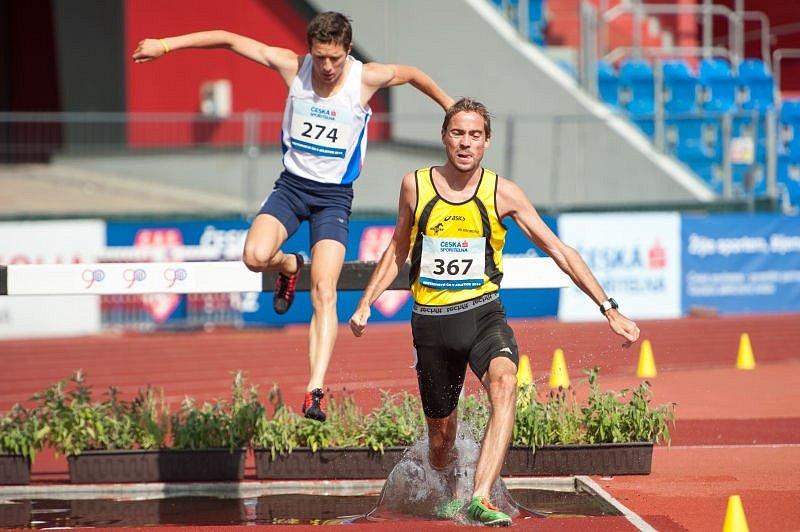 Mistrovství republiky v atletice v Ostravě.