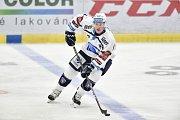 Utkání 4. kola hokejové extraligy: HC Vítkovice Ridera - HC Škoda Plzeň, 23. září 2018 v Ostravě. Allen Conor Jay.