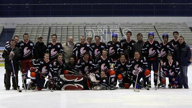 Hokejový tým Králíkáři Krásné Pole je přeborníkem Ostravy