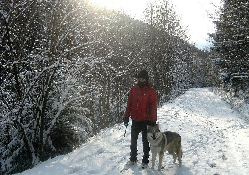 Čtvrtá březnová neděle (odpoledne) na Lysé Hoře a v jejím okolí.