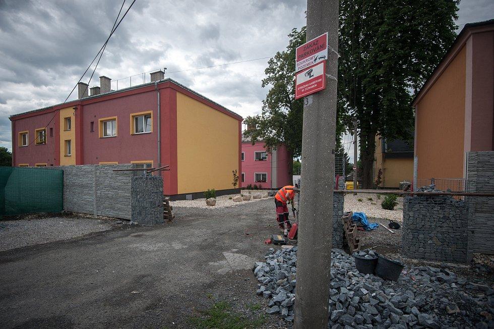 Stavba od podnikatele Rostilava Mitruse - Slezskská Ostrava, ulice Na Josefské.