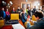 Den otevřených dveří na Nové radnici 28. října 2019 v Ostravě.