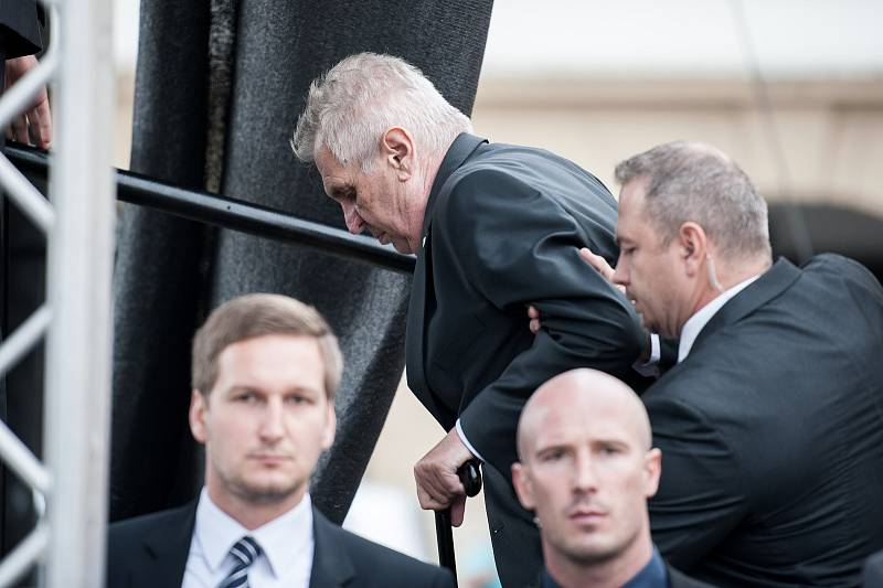 Ve středu 6. září 2017 přijel, v rámci páté oficiální návštěvy Moravskoslezského kraje, prezident Miloš Zeman také do Nového Jičína.