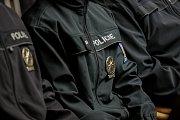Slavnostní slib nových policistů z Krajského ředitelství policie Moravskoslezského kraje v budově krajského úřadu v Ostravě, leden 2018. Ilustrační foto.