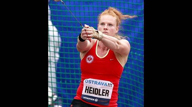 Betty Heidlerová na Zlaté tretře 2013
