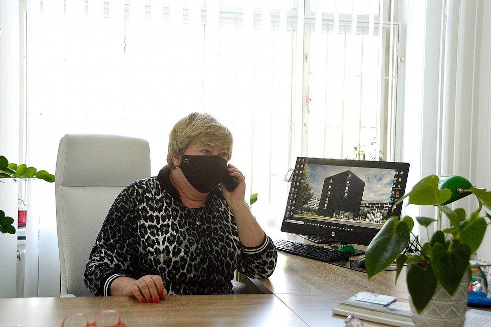 Ředitelka VKO Libuše Foberová.