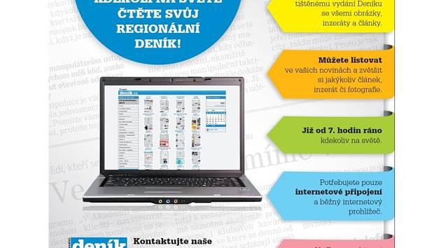 Deník v elektronické podobě!