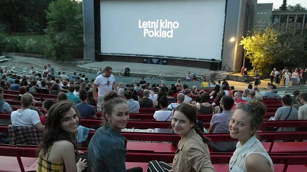 Letní kino v Ostravě-Porubě. Ilustrační foto.