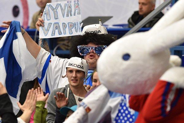 MS vhokeji, skupina B (Ostrava): Finsko - Slovinsko 4:0