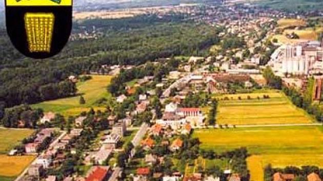 Letecký pohled na Nošovice