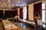 V Ostravském divadle Odvaz se uskutečnila akce swap (výměna) knih, 12. srpna 2020.
