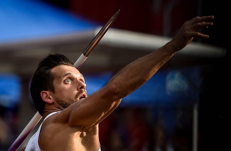 Zlatá tretra, atletický mítink IAAF World Challenge, 20. června 2019 v Ostravě. Na snímku Magnus Kirt.