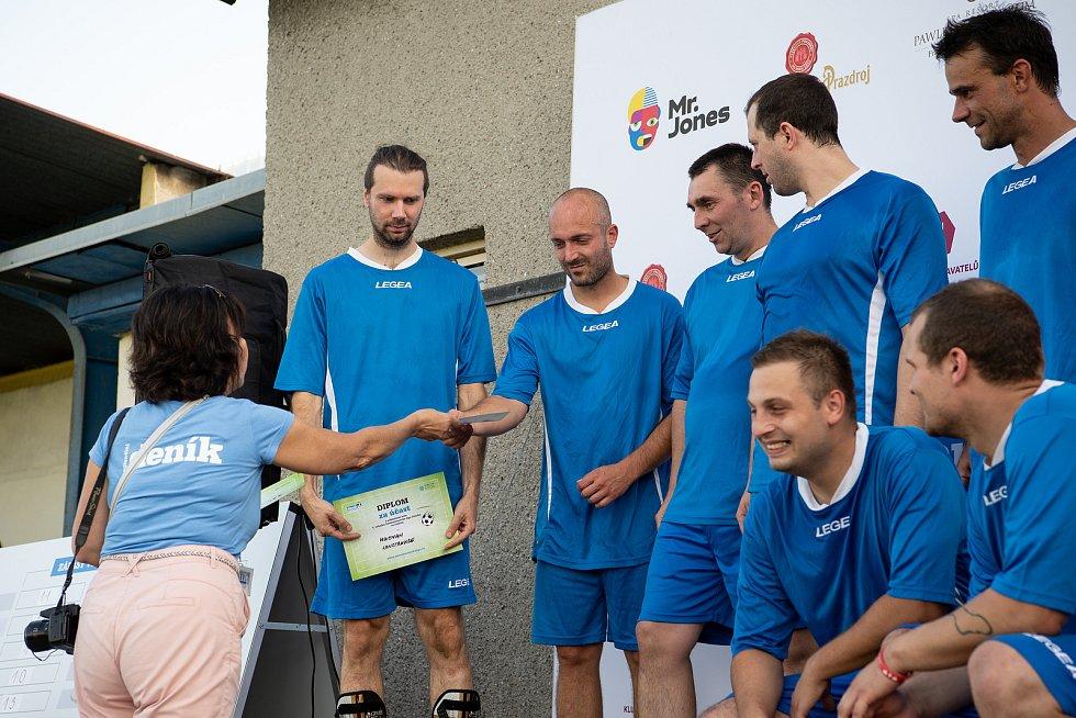 Zaměstnanecká liga Deníku, 22. září 2020 v Palkovicích. Huisman Konstrukce.