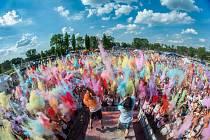 Druhý ročník Rainbow run se v sobotu konal v Dolní oblasti Vítkovic.