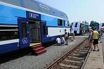 Mezinárodní veletrh drážní techniky Czech Raildays v Ostravě.