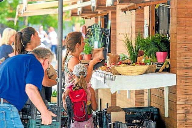 Obyvatelé centra Ostravy si stánky na Kuřím rynku oblíbili.
