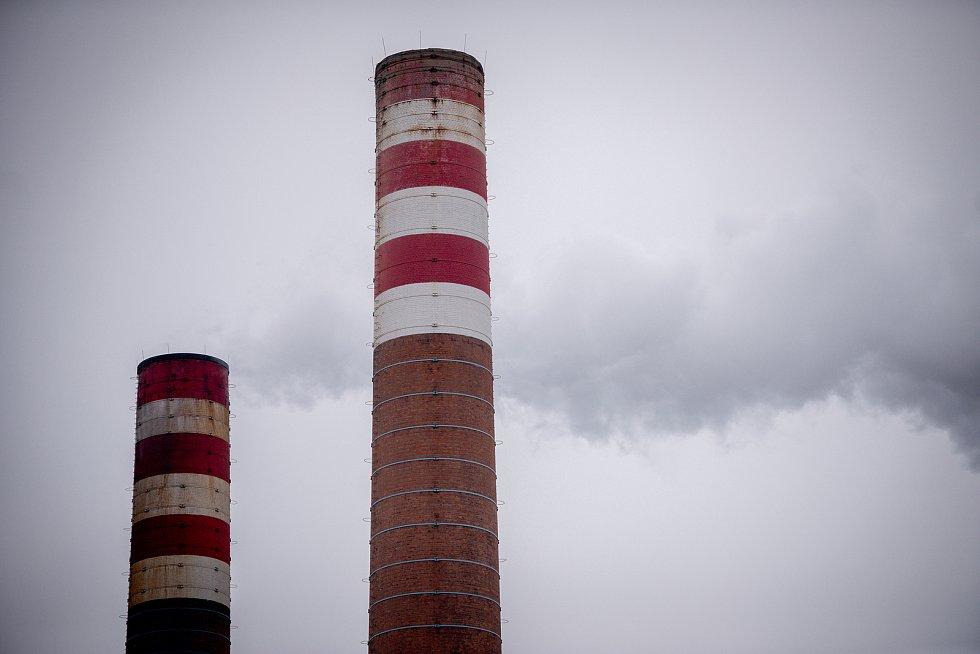 Elektrárna Třebovice, leden 2019.