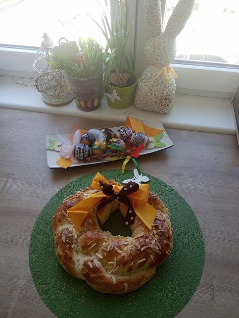 Velikonoční výzva - dekorace od čtenářky Nikol