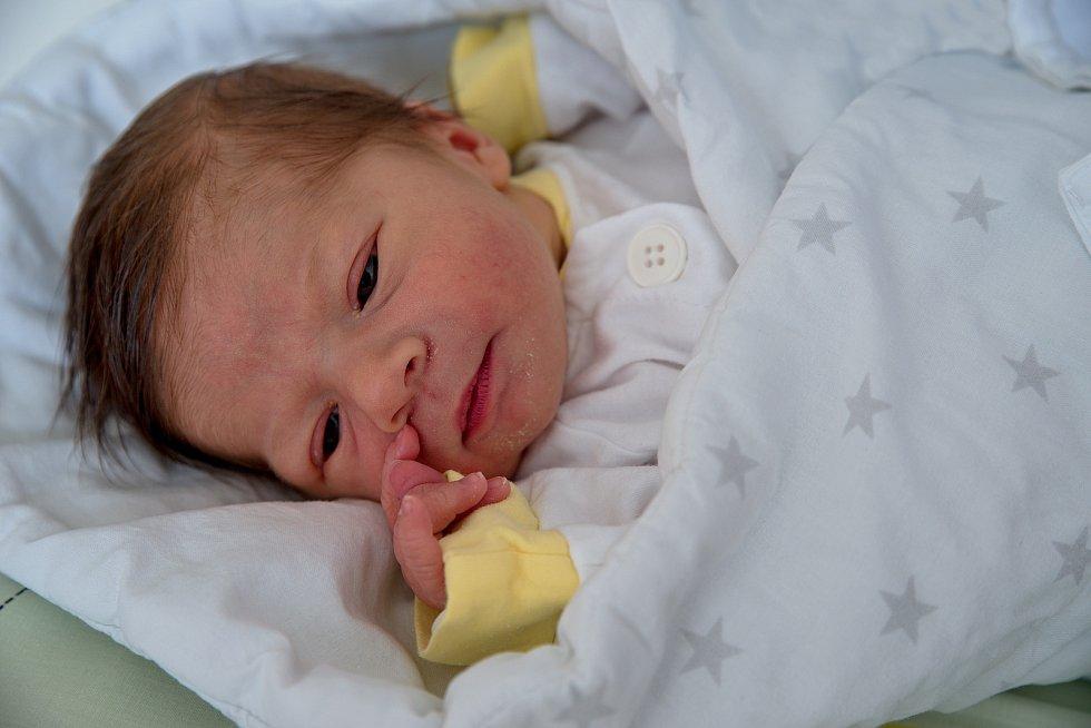 Emma Malíková, narozena 26. dubna 2021 v Karviné, míra 48 cm, váha 2970 g. Foto: Marek Běhan