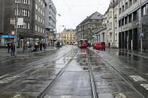 Z Nádražní ulice v centru Ostravy se do dvou měsíců stane opět staveniště.