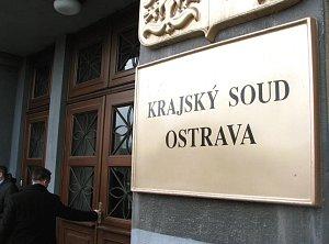 Krajský soud v Ostravě. Ilustrační foto.