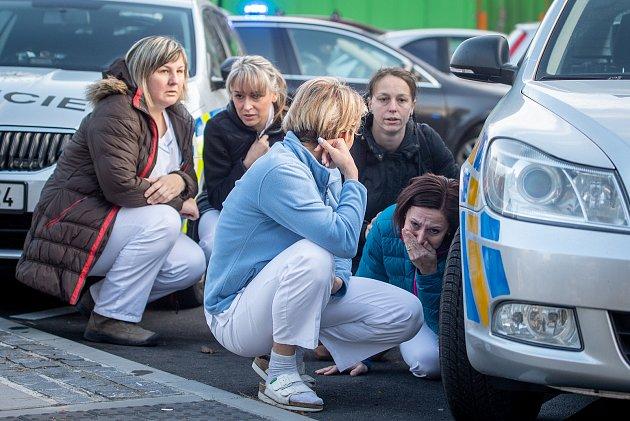 Střelba v nemocnici v Ostravě