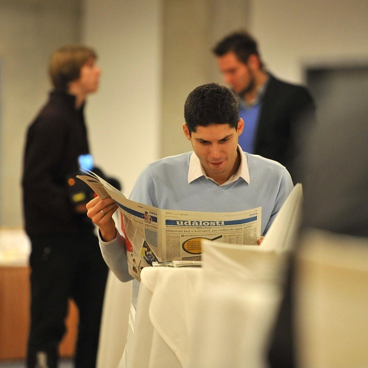 Pracovní snídani s významnými podnikateli tohoto regionu pořádal Deník v aule Gong v Dolních Vítkovicích v rámci projektu Pomozme lidem, pomozme kraji!