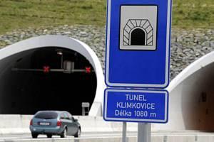 Tunel Klimkovice na dálnici D47.