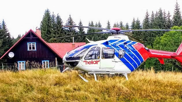 Ilustrační foto ze zásahu ostravské letecké záchranné služby.