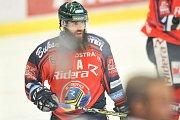 Utkání 52. kola hokejové extraligy: HC Vítkovice Ridera - HC HC Bílí Tygři Liberec, 4. března 2018 v Ostravě. Výtisk Jan.