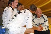 Trenér futsalistů VŠB Ostrava Václav Svoboda