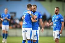 Fotbalisté Baníku Ostrava vyhráli utkání 3. kola MOL Cupu na hřišti třetiligového Vltavína 5:2 po prodloužení.