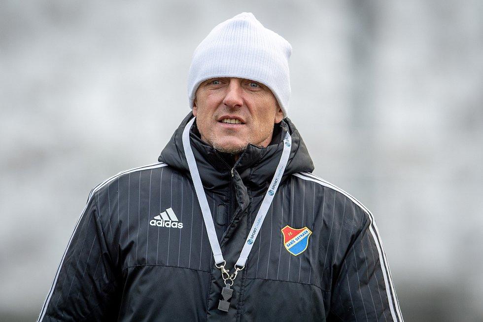 Nový trenér Baníku Luboš Kozel.