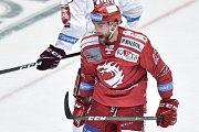 Utkání 9. kola hokejové extraligy: HC Oceláři Třinec - HC Sparta Praha, 12. října 2018 v Třinci. Na snímku Tomáš Marcinko.