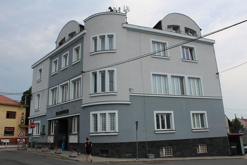 Třebovická radnice.