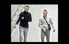 Násilníci zachyceni na záběrech .