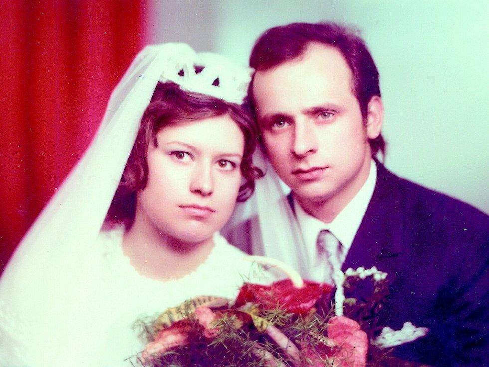 Svatba manželů Novákových