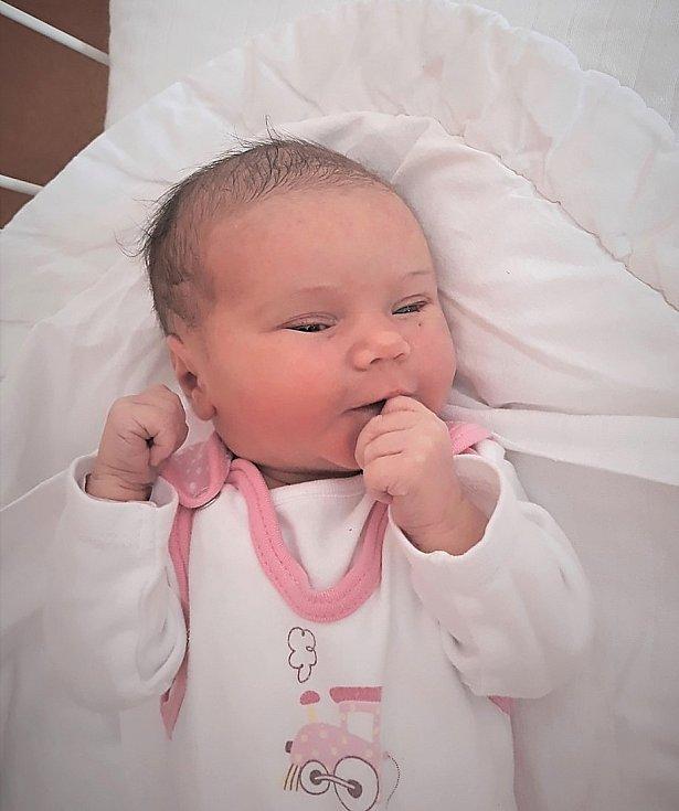 Natálie Hasalíková, Straník, Nový Jičín, narozena 16. února 2021, míra 48 cm, váha 2 960 g. Foto: Ivana Kristková