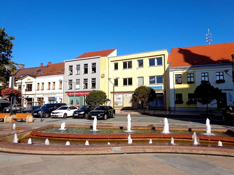 Výletování čtenářky Evy Raidové po okolí zámku Milotice a města Hodonín.