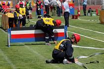 První den soutěží hasičských her CTIF 2009 Ostrava