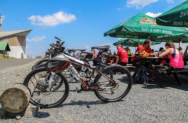 Lysá hora, červenec 2018.Výstup na vrchol Beskyd absolvuje každoročně statisíce turistů.