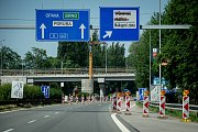 Oprava silnic, 12. června 2019 v Ostravě. Na snímku ulice Rudná.