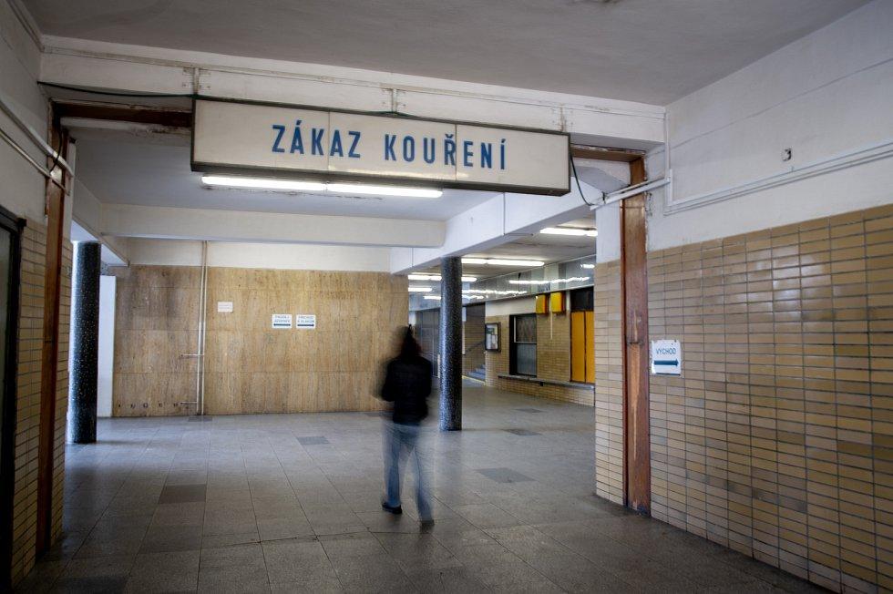 Vítkovické nádraží v Ostravě.