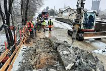 V Oldřichovicích bylo nalezeno historické zařízení k demolici mostu.
